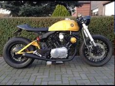 Building an yamaha xv 920 cafe racer by Dutchcaferacers: info@dutchcafer...