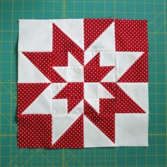 Modern Quilt Blocks, Star Quilt Blocks, Star Quilts, Amish Quilts, Half Square Triangle Quilts, Square Quilt, Quilting Projects, Quilting Designs, Motifs Applique Laine