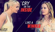 Cry on the inside .... like a winner!!! (LOVE THIS! hahahah)