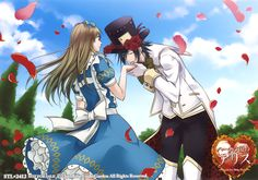 Heart no Kuni no Alice official art ~Blood and Alice~