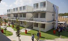 Velhos contêineres viram residências estudantis em Israel - Jornal O Globo