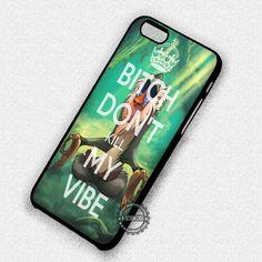 Don't Kill My Vibe Rifiki Monkey Disney Lion King - iPhone 7 6 Plus 5c 5s SE Cases & Covers