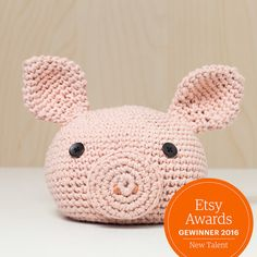 Türstopper gehäkelt Tierkopf Schwein altrosa niedlich von MJUKstore doorstopper - animal - pig - #mjukstore #etsy #unseretsy #doorstopper #animalhead #decoration #homemade #home #interior #fox #kids #kidsroom #design #teampinterest #homedeco #style #trend #cute #mummy #parents #family #textiledesign #crochet #pig #bunny #rabbit #penguin #elephant #textile #wool #germandesign #handmade #diy #penguin #frog #fox #pig #etsyawards2016 #etsyaward #finalist2016
