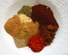 Homemade Taco Seasoning Mix (includes suggestions for substitutes to make it your own flavor!) #TacoTuesday