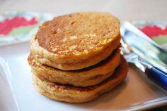 Greek Yogurt Pumpkin Pancakes