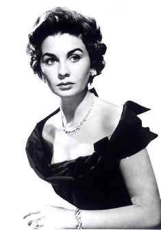 Jean Simmons, so beautiful and very talented. Loved her in David Lean's Great Expectations!