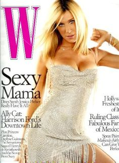 W Magazine - June 2003 - Sarah Jessica Parker Cover (Volume 32 Issue 6) by Patrick McCarthy, http://www.amazon.com/dp/B0017CVB5S/ref=cm_sw_r_pi_dp_rFjrrb1J7MVWH