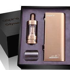 Aspire Odyssey in rose gold ❤ Going to buy one someday lol... Sweet-vapes.com