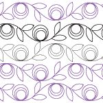 Paper Pantographs - Quilts Complete - Longarm Continuous Line Quilting Patterns Quilting Stencils, Quilting Templates, Longarm Quilting, Free Motion Quilting, Quilting Projects, Quilting Ideas, Quilting Stitch Patterns, Machine Quilting Patterns, Quilt Patterns