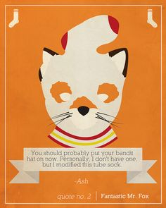 Cuss Yeah, Wes Anderson — loopez: Quote No. 2 | Fantastic Mr. Fox, by...