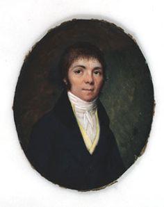 Retrato masculino ca. 1815 Escuela Española.  Fundación Lázaro Galdiano