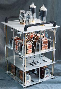 Thomas Mayer 300B push-pull power amplifiers