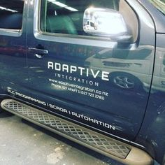 Vehicle graphics for Adaptive Integration