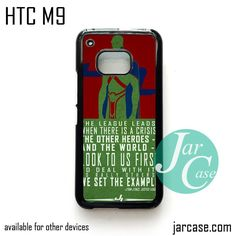 J'ONN Martian Phone Case for HTC One M9 case and other HTC Devices