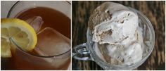 Southern Sweet Tea - sweet black tea ice cream with hints of peach, spiked (as sweet tea should be) with NY distilled bourbon