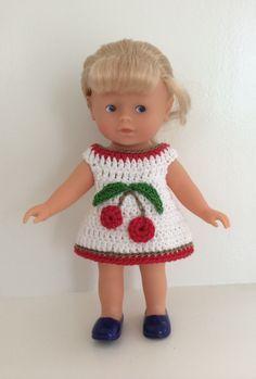 Robe au crochet pour poupées 28 cm Corolline Corolle : Jeux, jouets par…
