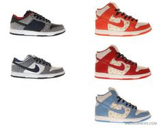 Nike Dunk Low and High Supreme