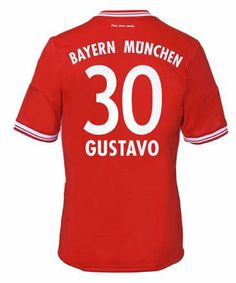 Maillot de Foot Bayern Munich (30 Gustavo) Domicile Adidas Collection 2013 2014 rouge Pas Cher http://www.korsel.net/maillot-de-foot-bayern-munich-30-gustavo-domicile-adidas-collection-2013-2014-rouge-pas-cher-p-2408.html