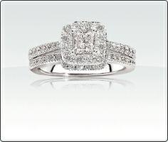 SKU: 6089485\n  Lily - .85ct T.W. Diamond Engagement Ring
