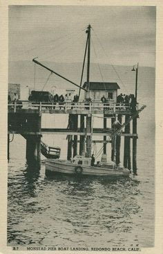 Old Redondo Beach postcard