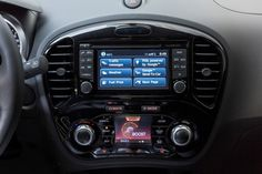 The technology in the #Nissan #Juke n-tec.