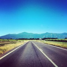 Gorgeous day and clear view driving on the highway in Australia!