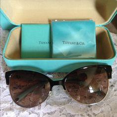 16bd0926a8c Tiffany Sunglass Brand new Tiffany tortoise sunglasses Brown lens Tiffany    Co. Accessories Sunglasses Tiffany
