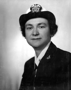 Mildred H. McAfee took a leave of absence as president of Wellesley College to become the first female commissioned officer in U.S. Navy history, and the first Director of the WAVES. She was also the first woman to receive the Navy Distinguished Service Medal.