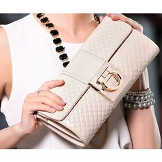 2013 beige clutch purse | 2013 Hot Bag Chain Lingge Banquet Cowhide Leather Clutch Bags Beige ... Leather Clutch Bags, Clutch Purse, Purse Wallet, Photoshoot Inspiration, Baggage, Cowhide Leather, Chanel Boy Bag, Hand Bags, Purses