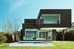 30 Fachadas de casas modernas e cinza - a cor do momento!