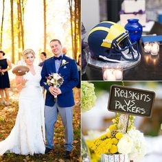 Bring Your A-Game to Your Big Day With These 21 Football Ideas