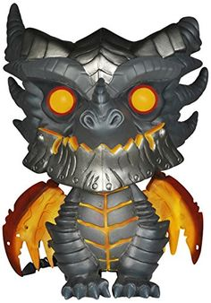 Your favorite MMORPG character gets the Pop! Vinyl treatment! This World of Warcraft Deathwing 6-Inch Pop! Vinyl Figure features the terror-inspiring Deathwing the Destroyer as a stylized Pop! Vinyl f...