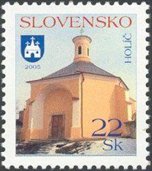Stamp: Holíč (Slovakia) (Definitive Issues - Towns) Mi:SK 517,Yt:SK 449,AFA:SK 498,POF:SK 358