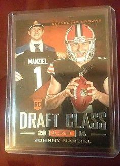 2014  Rookies & Stars Draft Class Rookie Insert Johnny Manziel RC Texas A&M