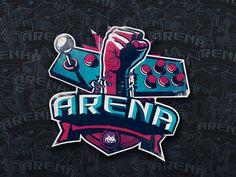 Arena on Behance