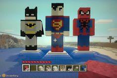 I want to make Nick a MineCraft Batman costume...  hee hee
