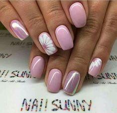 nail art designs for spring ~ nail art designs ; nail art designs for winter ; nail art designs for spring ; nail art designs with glitter ; nail art designs with rhinestones Spring Nail Art, Nail Designs Spring, Acrylic Nail Designs, Nail Art Designs, Nails Design, Fingernail Designs, Flower Nail Designs, Nails With Flower Design, Pretty Nail Designs