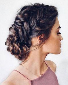 33 Wedding Updos With Braids ❤ wedding updos with braids textured low bun hairbyhannahtaylor #weddingforward #wedding #bride #weddingupdoswithbraids #weddinghair