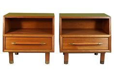 Nightstands   by Paul László, Pair on OneKingsLane.com