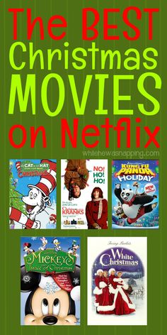 The Best Christmas Movies on Netflix this year. There's something for everyone - the kids, family movie night, date night or girls night in.