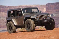 Jeep Wrangler Flattop Concept