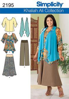 Simplicity 2195 - Misses' & Plus Size Sportswear