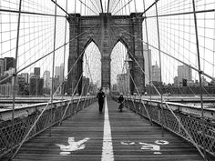 NYC. Brooklyn Bridge - Nina Papiorek