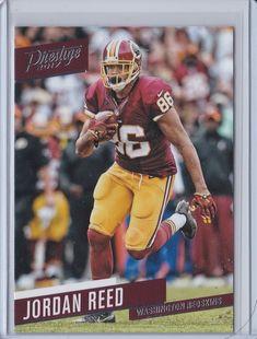 2017 Prestige Jordan Reed Washington Redskins Football Sports Card No. 28 #WashingtonRedskins