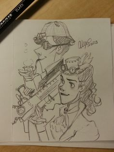:O Steampunk Sherlolly?! OH YES. I NEED THIS!!!!! Pin to steampunk or Sherlock?!?!?!?
