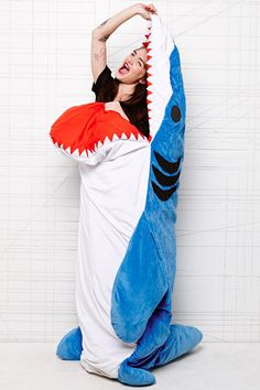 Shark Sleeping Bag at Urban Outfitters