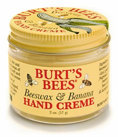 With the a-peeling natural aroma of bananas, Burt's Bees Beeswax & Banana Hand Cream combines beeswax and aloe to leave hardworking hands noticeably soft, smooth and smelling great. Burt's Bees, Hand Care, Body Lotions, Feet Care, Moisturiser, Aloe Vera, Body Care, Bath And Body, The Best