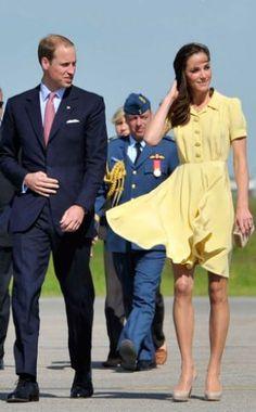 yellow dress kate middleton top