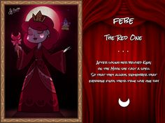 Febe, the Red One by jgss0109 on DeviantArt||THAT EXPLAINS THE BLOOD MOON!!