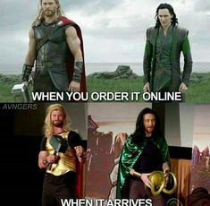 Hahaa Thor & Loki i love them when they together